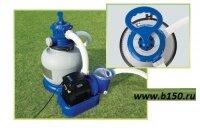 Песчаный насос фильтр Интекс Intex 28646 / 56674 для надувных и каркасных бассейнов